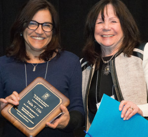 2015 Awards Ceremony Photo - Outstanding Doctoral Dissertation Award Winner (Yalda Uhls)small