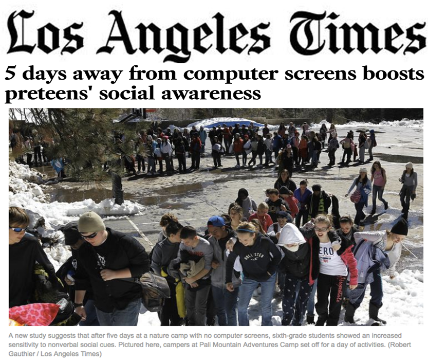 Los Angeles Times: Website Of Yalda T Uhls, Research And Advice On Digital